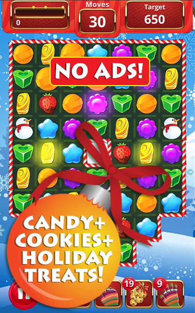 Christmas Treats Match 3- screenshot