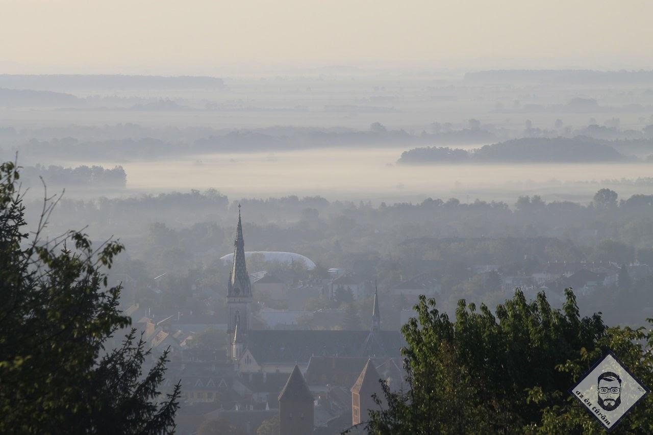 KÉP / Kőszeg felé visszatekintve a Kálvária-hegyről