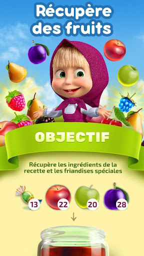 Masha et Michka: Jam Day - cartoons games for kids  captures d'écran 4