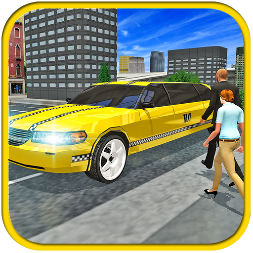 Limo Taxi Driving 3D