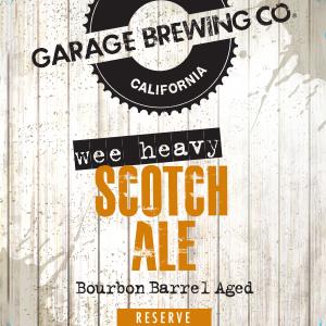 Logo of Garage Wee Heavy Scotch Ale, Bourbon Barrel Aged