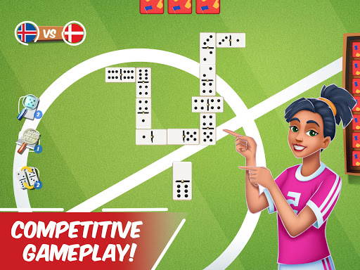 Dominoes Striker: Play Domino with a Soccer blend 2 screenshots 14