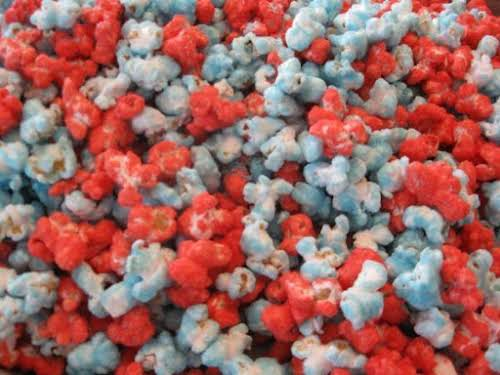 "4th of July Popcorn ""This was a fun and easy treat! Kids..."