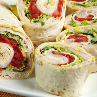 Turkey Provolone Wraps