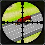 Sharp Shooter Traffic Hunter Icon