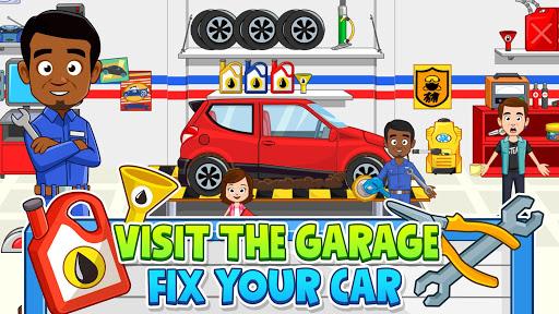 My Town: Car Garage. Wash & Fix kids Car Game  screenshots 4