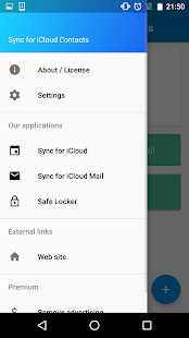 Sync for iCloud Contacts- screenshot thumbnail