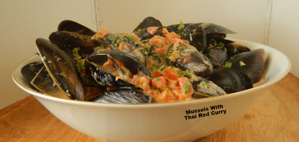 Mussels With Thai Red Curry Recipe