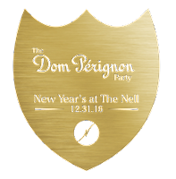 The Dom Perignon Party  logo