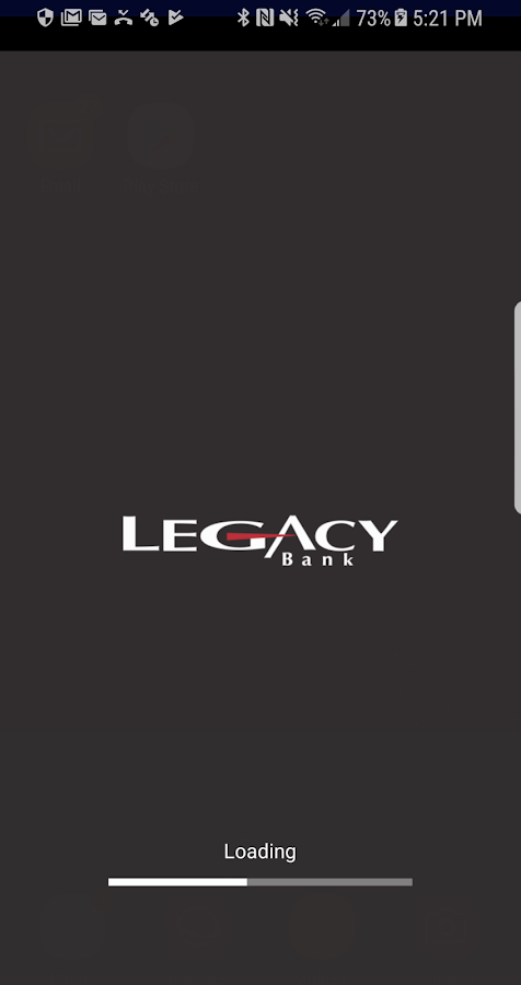Legacy Bank Mobile- screenshot