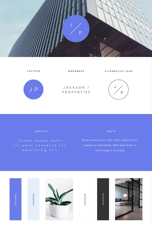 Jackson Brand Board - Pinterest Pin Template