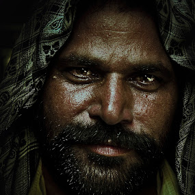 patan by Don Eugene Roces - People Portraits of Men