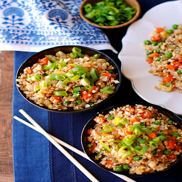 "HEALTHY CAULIFLOWER FRIED ""RICE"" - screenshot"