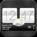 Sense V2 Flip Clock & Weather download