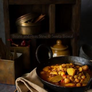 Mixed Beans and Peas Stew (Vegan) Recipe