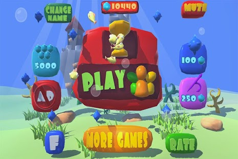 Fish eat fish frenzy android apps on google play for Play go fish online