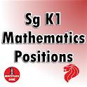 Sg K1 Mathematics - Positions icon