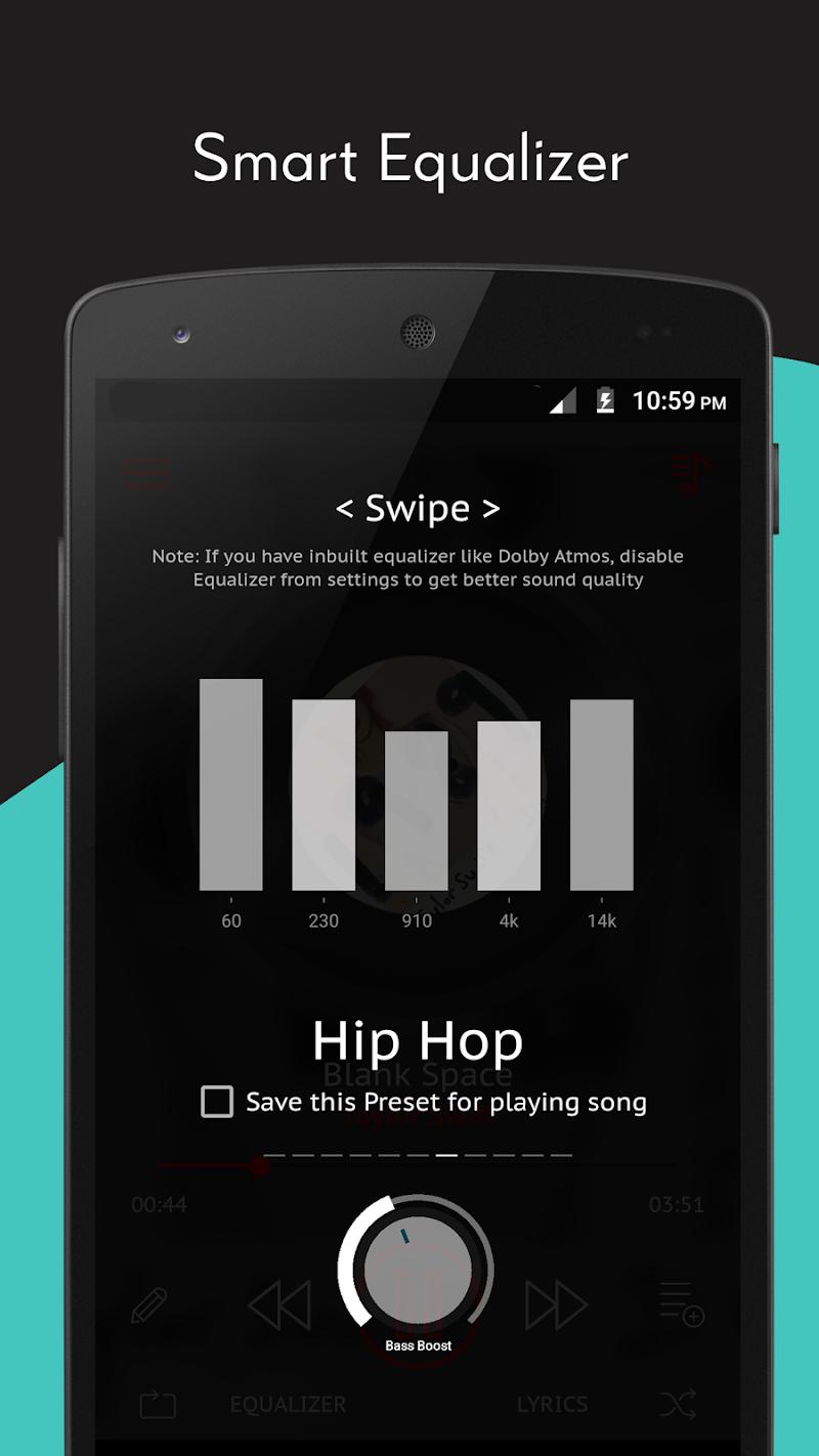 Crimson Music Player - MP3, Lyrics, Playlist Screenshot 2
