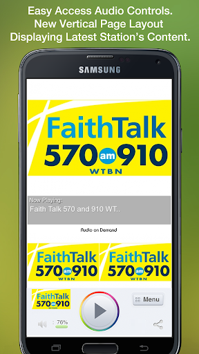 Faith Talk 570 and 910 WTBN