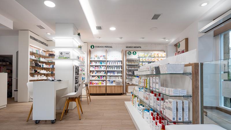 Consejos para un diseño de farmacia moderno.