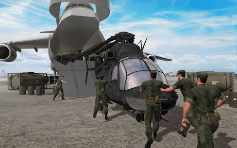 Army Helicopter Transporter Pilot Simulator 3D 3