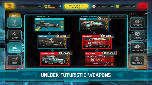 SHADOWGUN: DEADZONE 2.9.0 screenshots 5