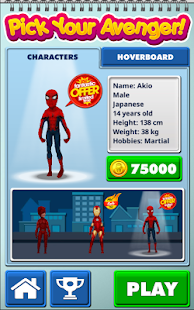 Subway Hero Surfers: Spiderman, Batman & Avengers - náhled