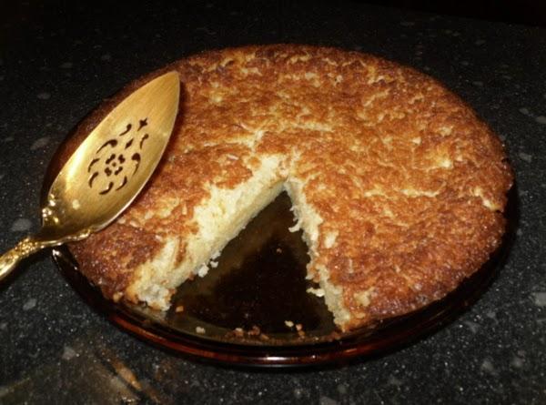 Simple French Coconut Pie Recipe