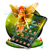 Magic Fairy Land 3D Launcher Theme