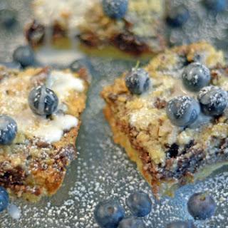 Blueberry Chocolate Streusel Bars