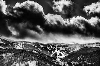 Photo: Storm Over Mission - Homage to Olivier Du Tré