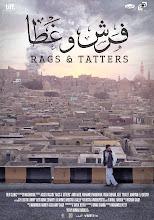 Photo: Rags & Tatters - Poster - Designer: Tarek Hefny. Font by: Mohamed Gaber.
