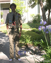 Photo: (Year 3) Day 20 - Edward Back from Scout Camp #2
