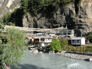 Photo: Chame occupies both sides of the river