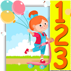 1 to 100 number counting game icon