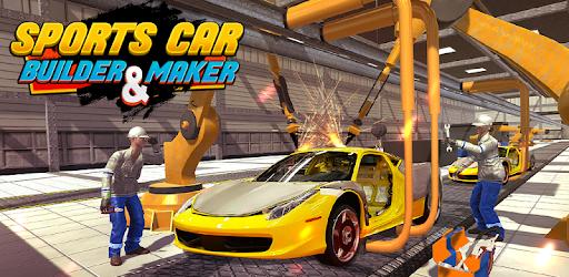 Car Maker Auto Mechanic Sports Car Builder Games - Apps on