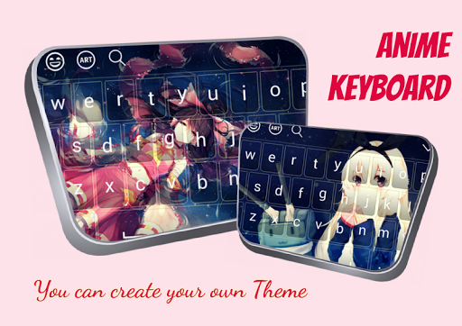 girl anime keyboard theme for android