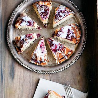 Glazed Raspberry Coffee Ccake