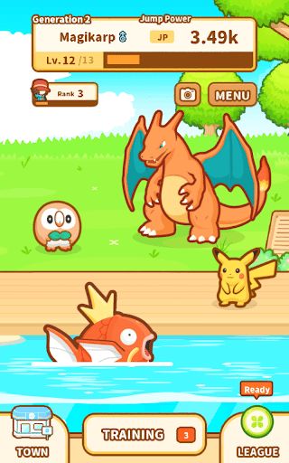 Pokémon: Magikarp Jump screenshot 15