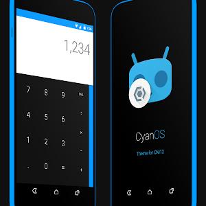 CyanOS theme for CM12 v1.1