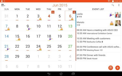 ASUS Calendar screenshot 9