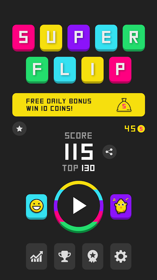 Super Flip Game- screenshot