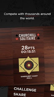 Churchill Solitaire Card Game – miniaturka zrzutu ekranu
