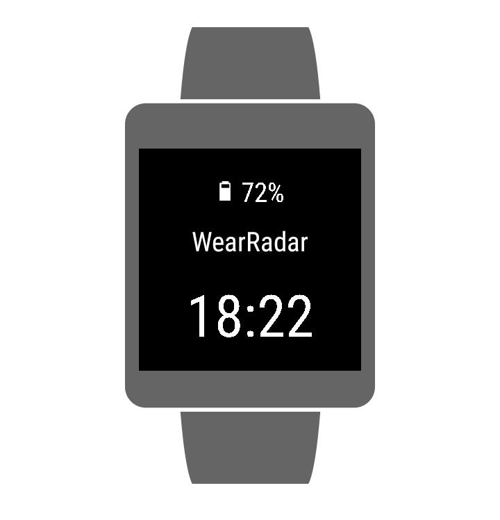 WearRadar- screenshot
