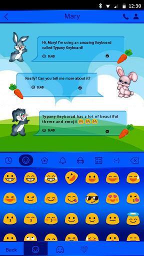 mod Cute Bunny Theme  Keyboard 4.5 screenshots 3