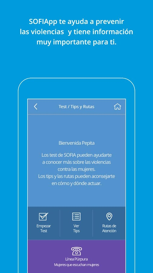 SOFIApp- screenshot