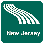 New Jersey Map offline