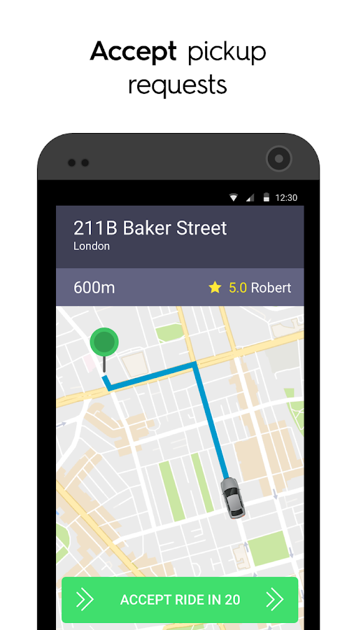 Taxify Driver- screenshot