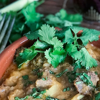 Pressure Cooker Thai Red Curry Beef.