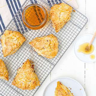Honey Bacon Cheddar Scones